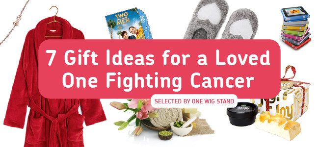 Best ideas about Cancer Gift Ideas . Save or Pin 7 Gift Ideas for a Loved e Fighting Cancer – e Wig Stand Now.