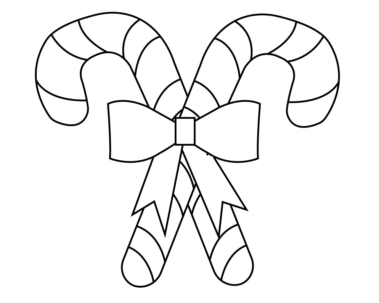 Best ideas about Candy Cane Printable Coloring Pages . Save or Pin Candy Cane Coloring Pages For Kids printable Now.