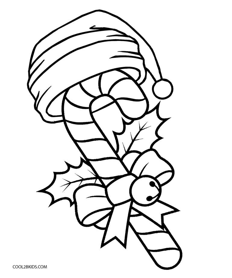 Best ideas about Candy Cane Printable Coloring Pages . Save or Pin Free Printable Candy Cane Coloring Pages For Kids Now.