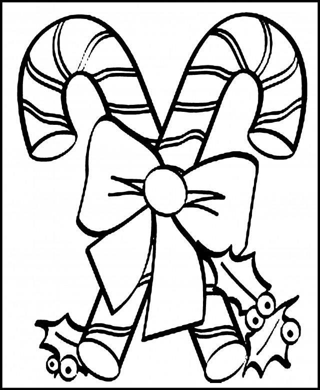 Best ideas about Candy Cane Printable Coloring Pages . Save or Pin Candy Cane Print Out Coloring Home Now.