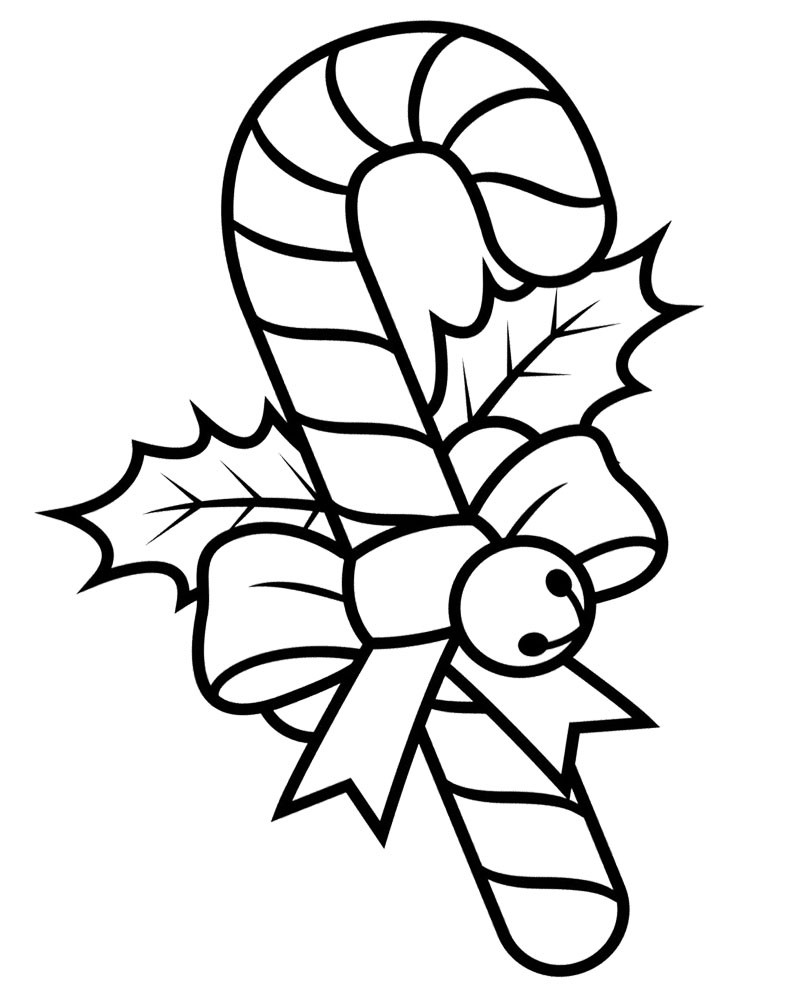 Best ideas about Candy Cane Printable Coloring Pages . Save or Pin Candy Cane Coloring Pages Now.