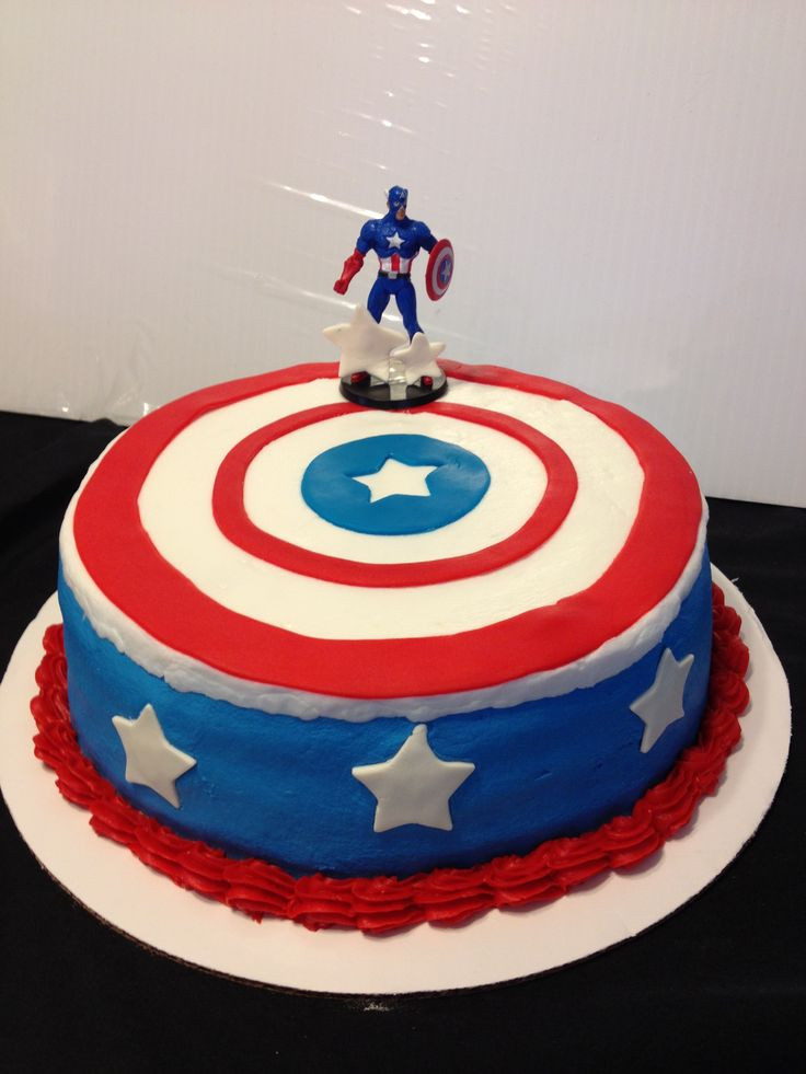 Best ideas about Captain America Birthday Cake . Save or Pin 1000 images about Cakes Captain America on Pinterest Now.