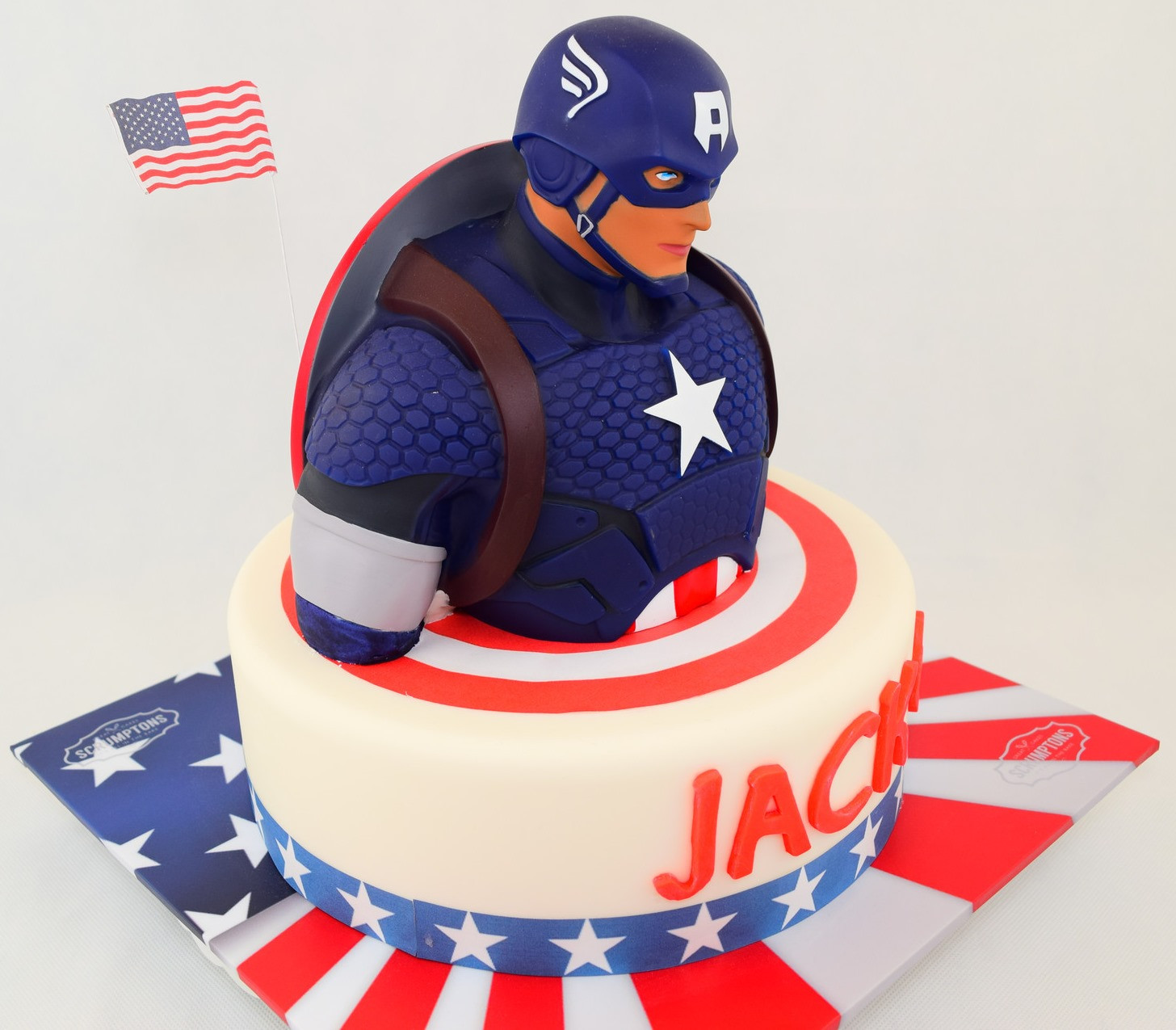 Best ideas about Captain America Birthday Cake . Save or Pin Cool Captain America Birthday Cake Between the Pages Now.