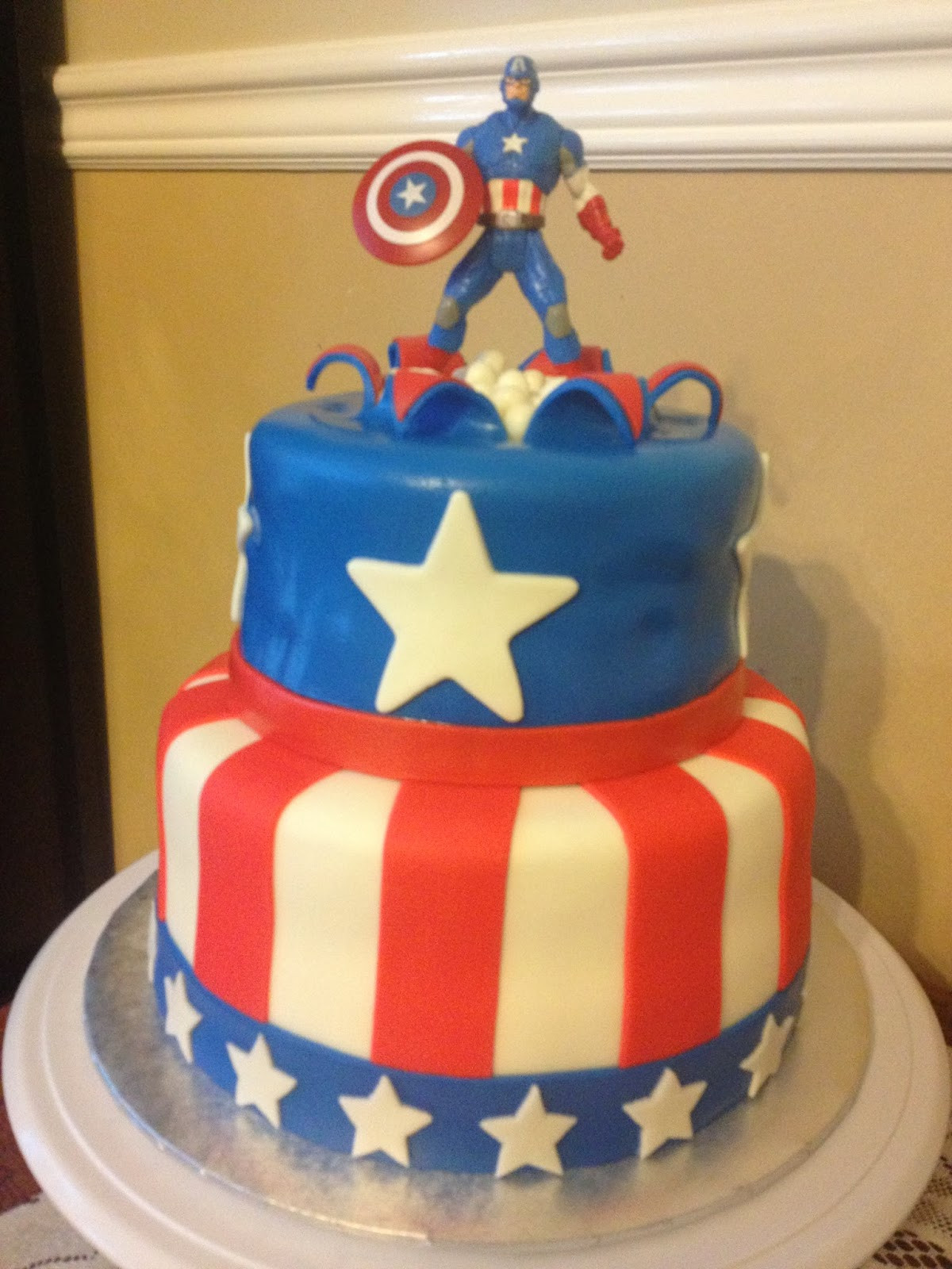 Best ideas about Captain America Birthday Cake . Save or Pin Sugar Love Cake Design Birthday Cakes Now.