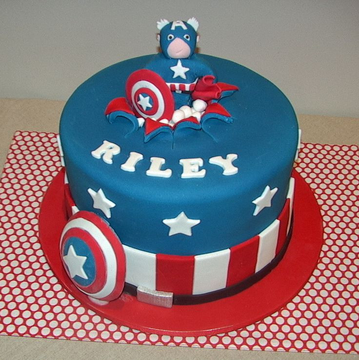 Best ideas about Captain America Birthday Cake . Save or Pin Captain america birthday cake Captain america birthday Now.