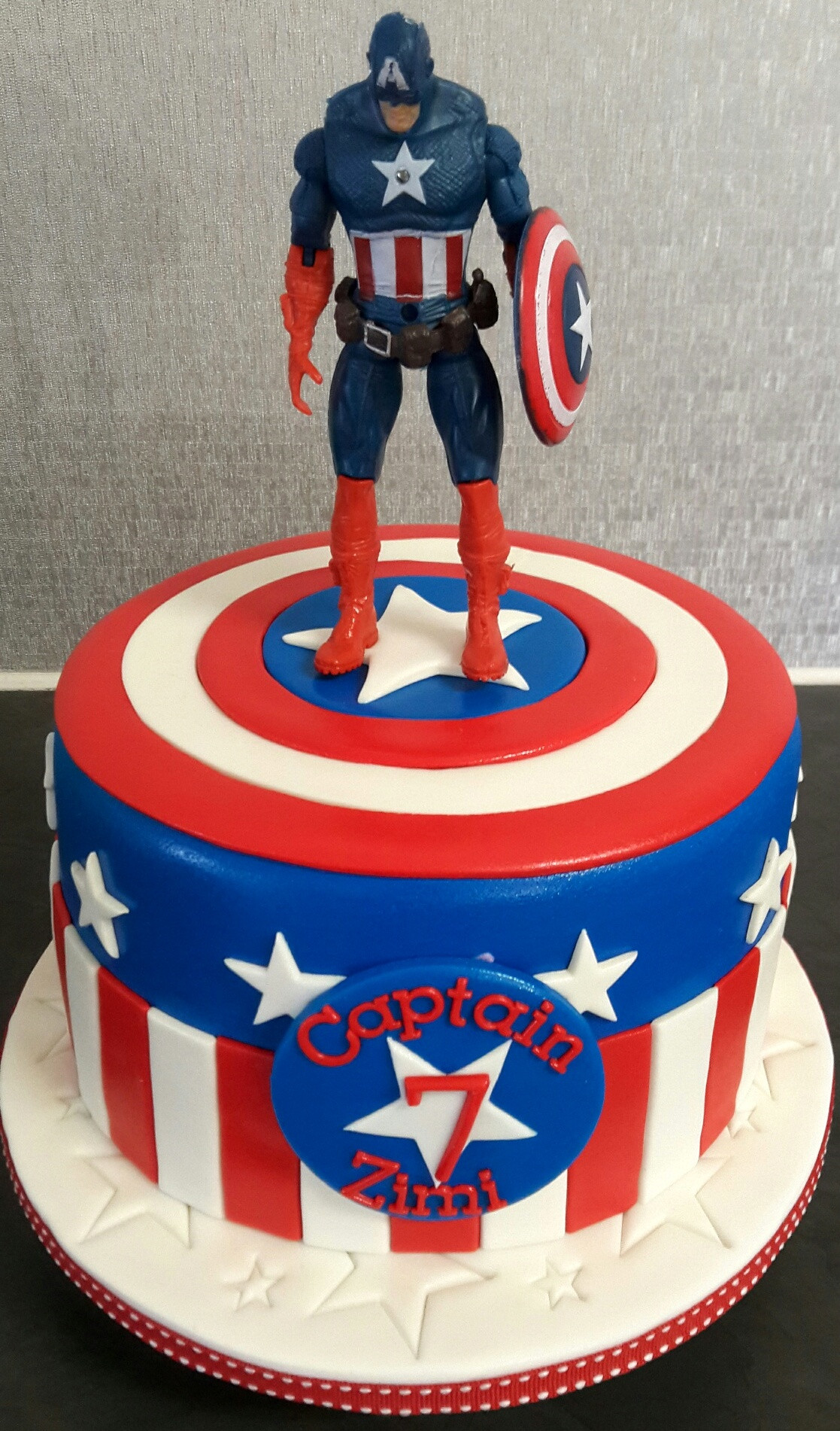 Best ideas about Captain America Birthday Cake . Save or Pin Birthday Cakes Now.