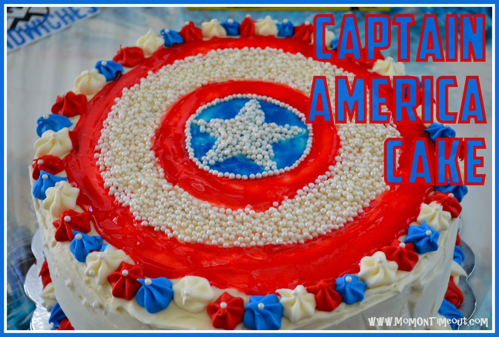 Best ideas about Captain America Birthday Cake . Save or Pin Captain America Birthday Cake Now.