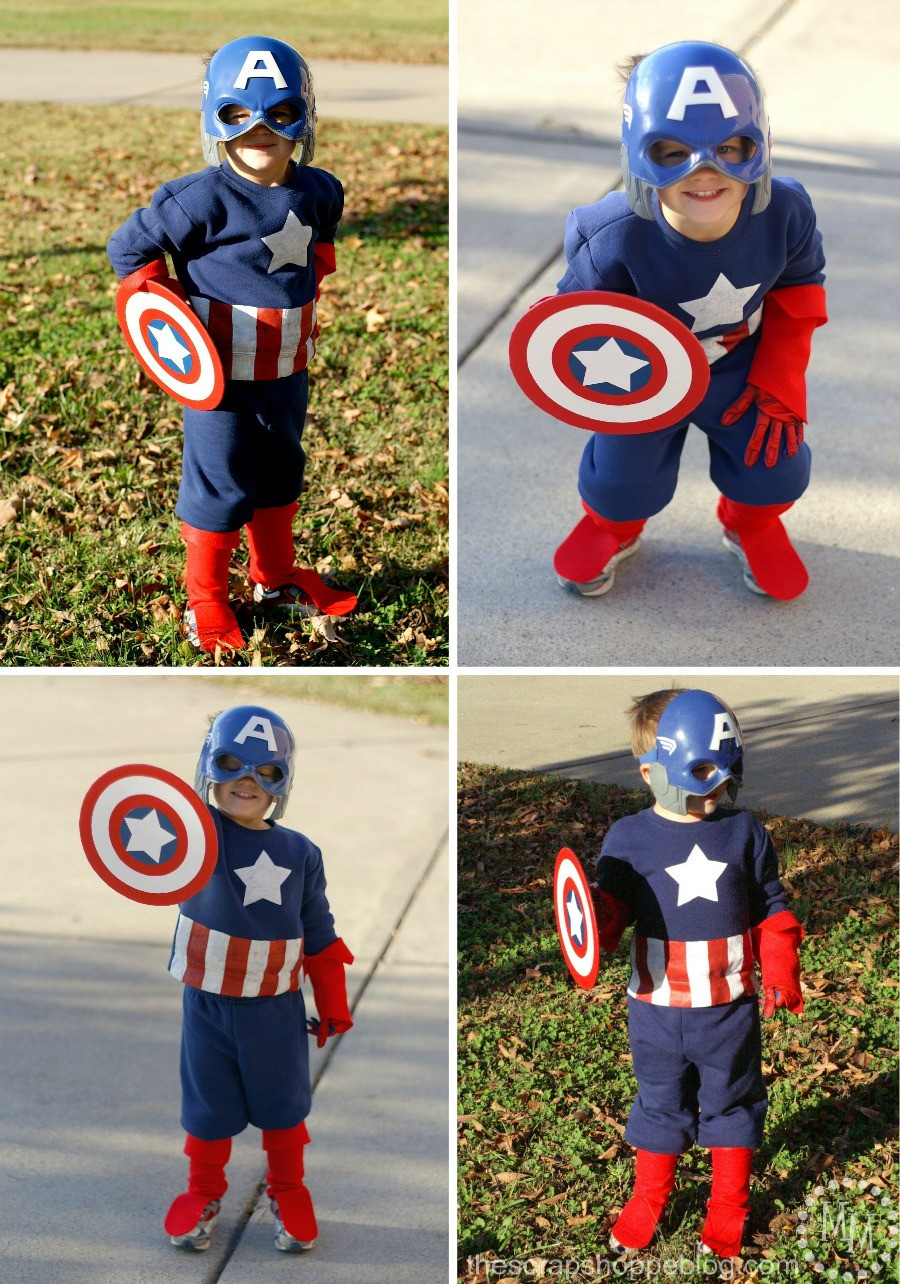 Best ideas about Captain America DIY Costume . Save or Pin 11 Cute and Quick Costumes from 2015 Family Movies Now.