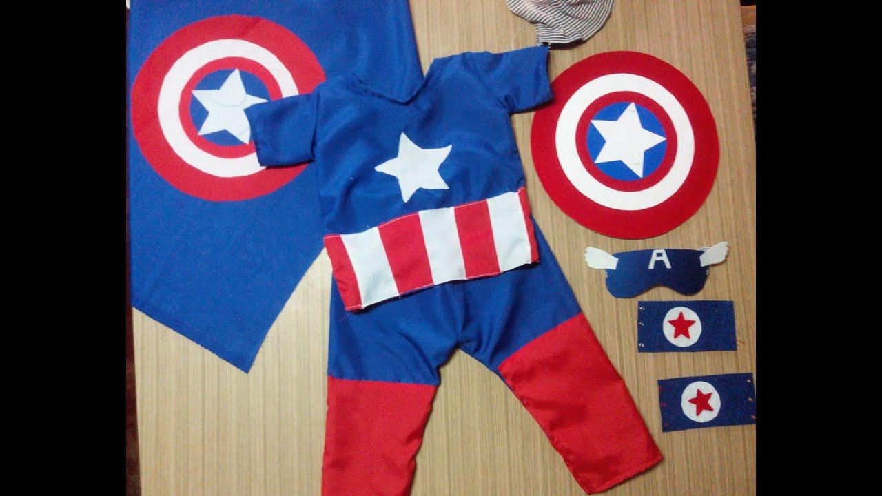 Best ideas about Captain America DIY Costume . Save or Pin DIY CAPTAIN AMERICA HALLOWEEN COSTUME Now.