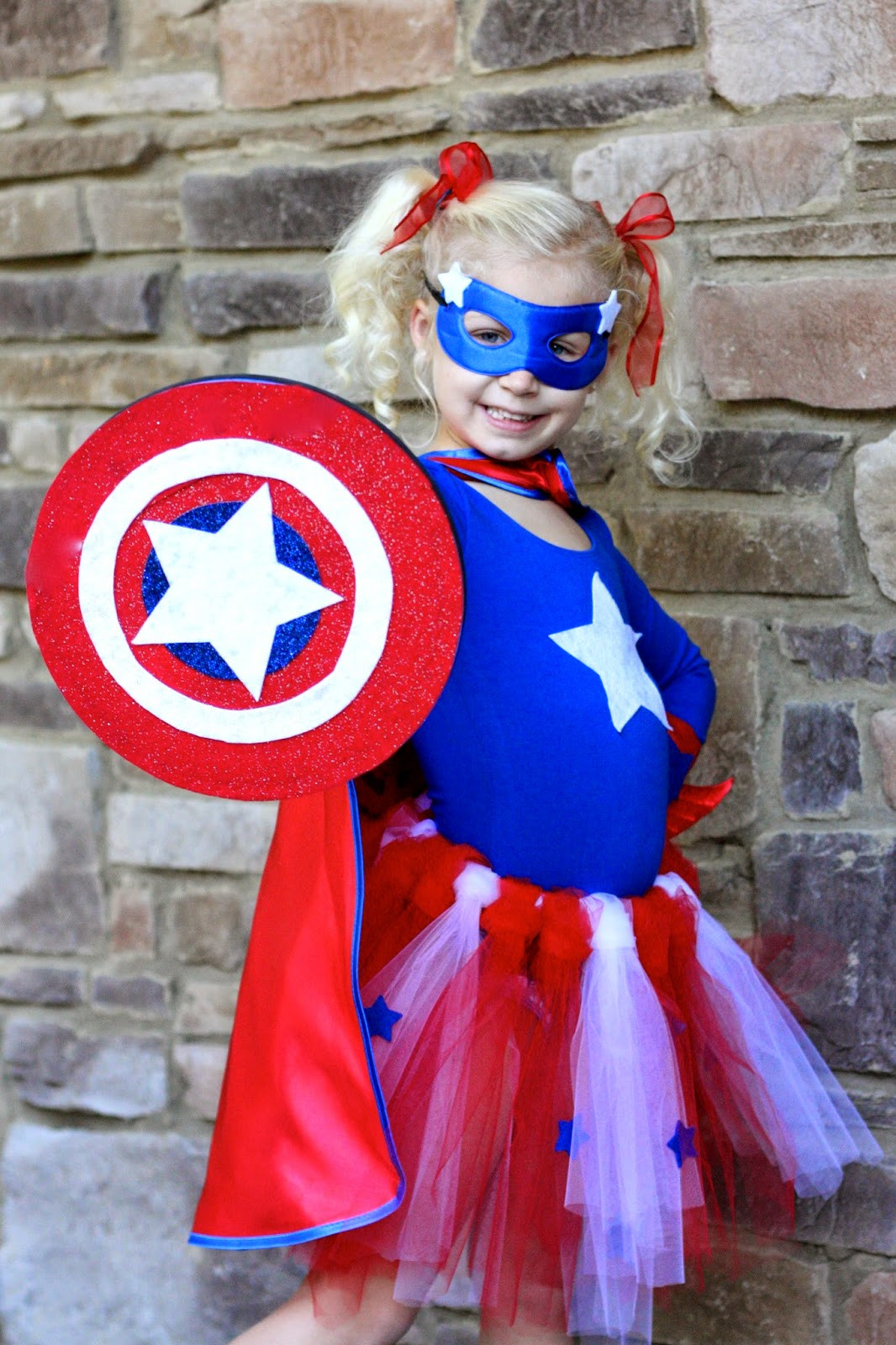 Best ideas about Captain America DIY Costume . Save or Pin Magnolia Mamas DIY Superhero Costumes Now.