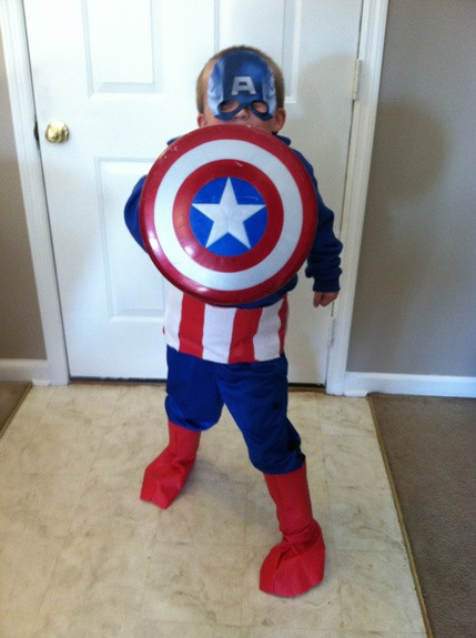 Best ideas about Captain America DIY Costume . Save or Pin 10 DIY Halloween Costumes for Kids Hobbies on a Bud Now.