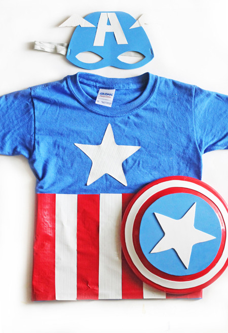 Best ideas about Captain America DIY Costume . Save or Pin Superhero DIY Projects The Cottage Market Now.