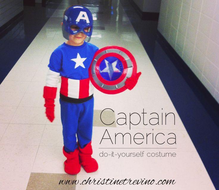 Best ideas about Captain America DIY Costume . Save or Pin Captain America Costume Halloween Costumes Now.