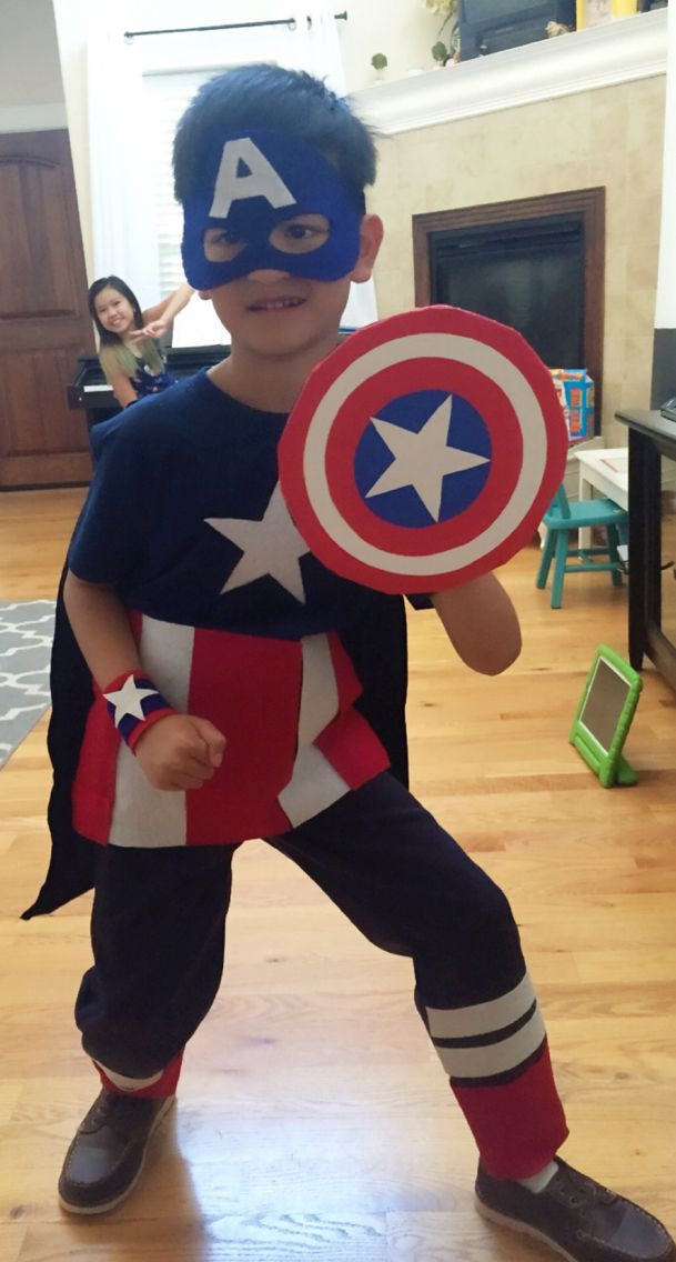 Best ideas about Captain America DIY Costume . Save or Pin 342 best images about Fancy Dress Ideas on Pinterest Now.
