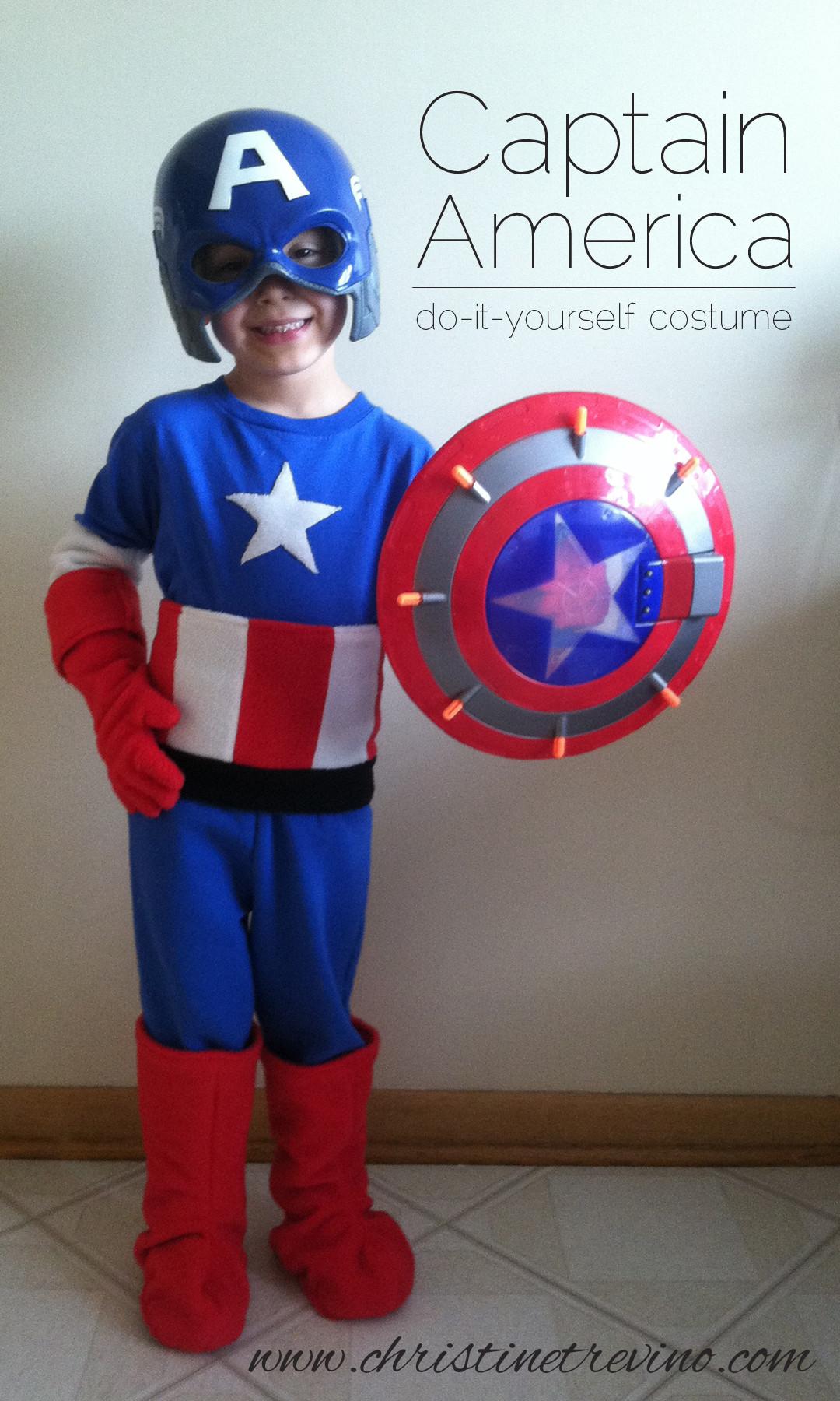 Best ideas about Captain America DIY Costume . Save or Pin Captain America Costume Christine Trevino Now.