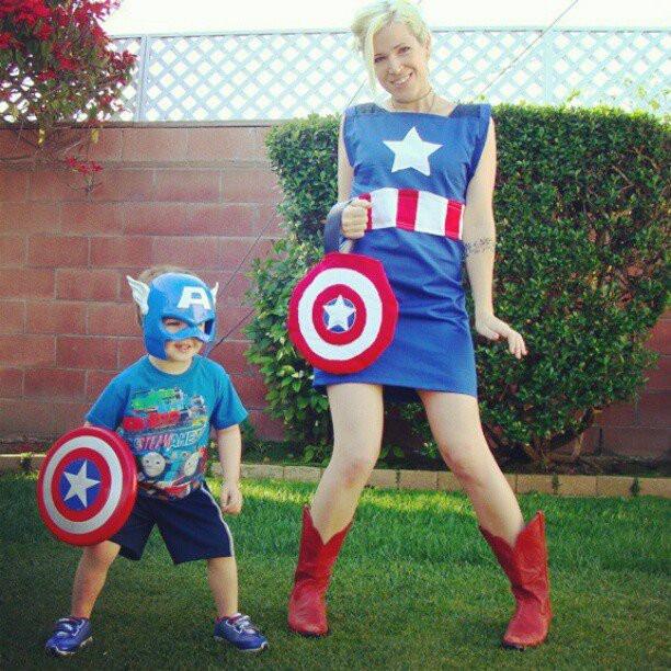 Best ideas about Captain America DIY Costume . Save or Pin homemade captain america costume Now.
