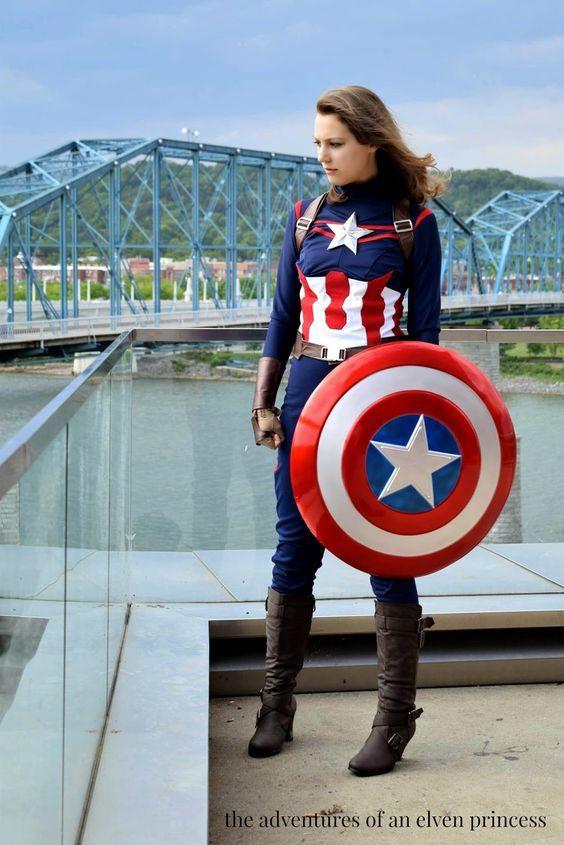 Best ideas about Captain America DIY Costume . Save or Pin DIY Captain America Costume Now.
