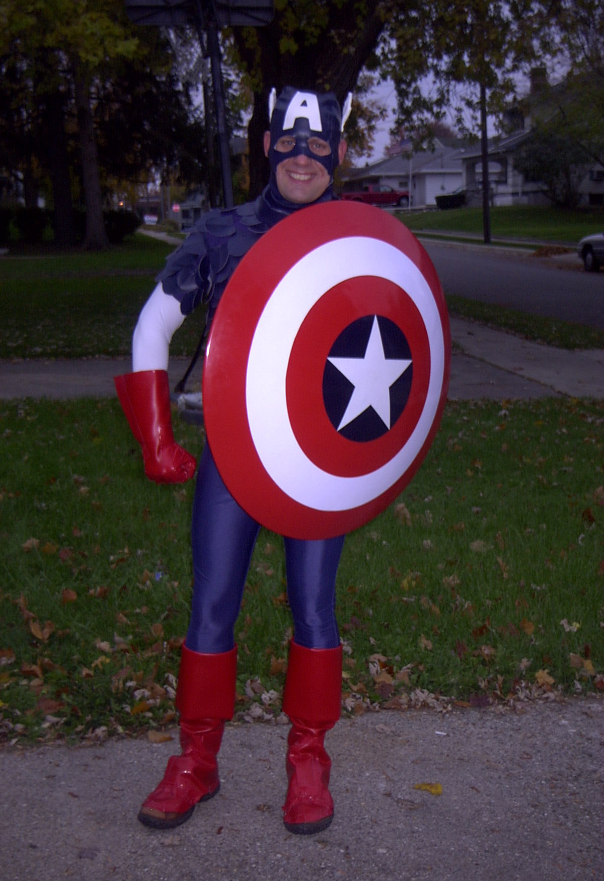 Best ideas about Captain America DIY Costume . Save or Pin Captain America Halloween Costume Now.