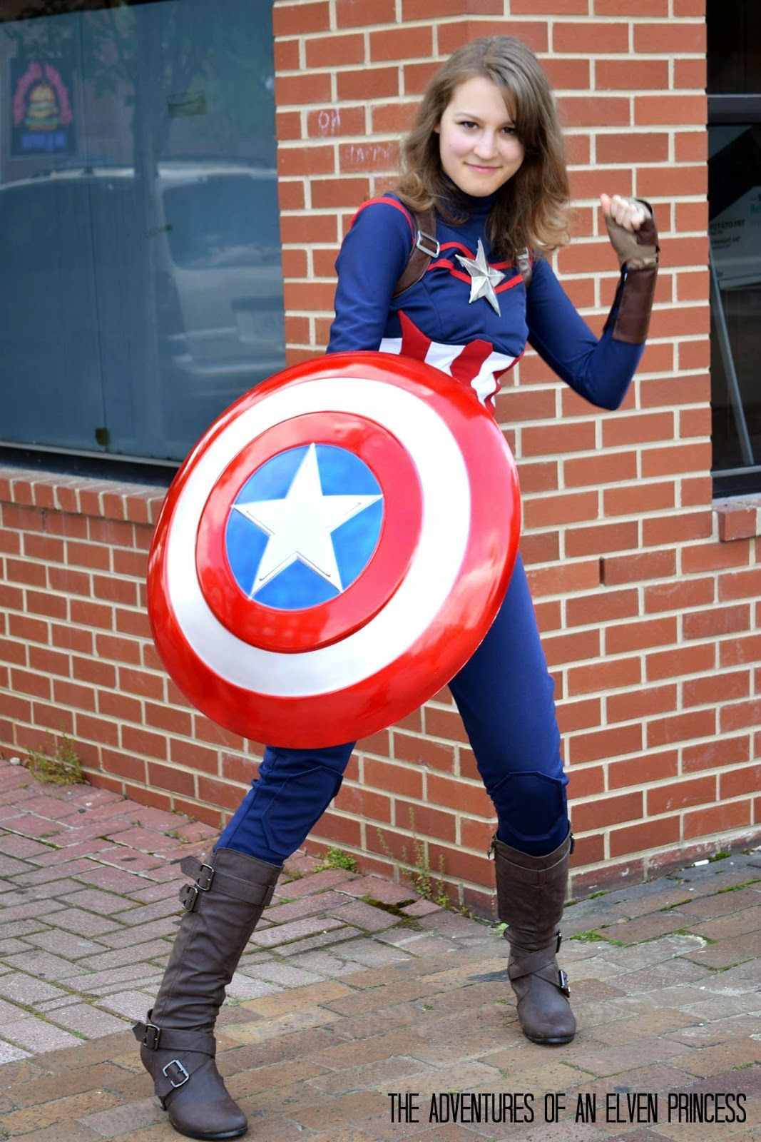 Best ideas about Captain America DIY Costume . Save or Pin The Adventures of An Elven Princess Captain America Now.