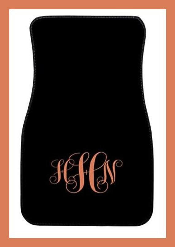 Best ideas about Car Accessories Gift Ideas . Save or Pin Items similar to Car Mats Monogrammed Gifts Personalized Now.
