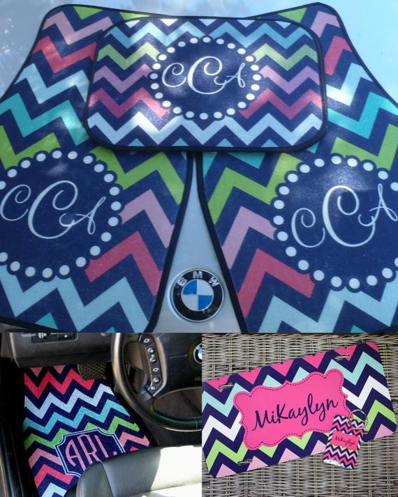 Best ideas about Car Accessories Gift Ideas . Save or Pin Car Mats Monogrammed Gifts Personalized Custom Car by Now.