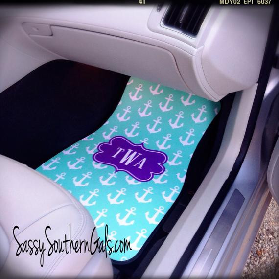 Best ideas about Car Accessories Gift Ideas . Save or Pin Items similar to Car Mats Monogrammed Gift Ideas Car Now.
