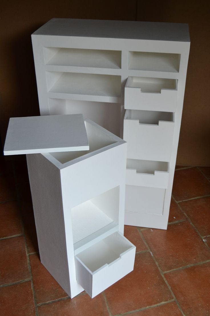 Best ideas about Cardboard Furniture DIY . Save or Pin 2577 best images about Cardboard Crafts Créations à base Now.