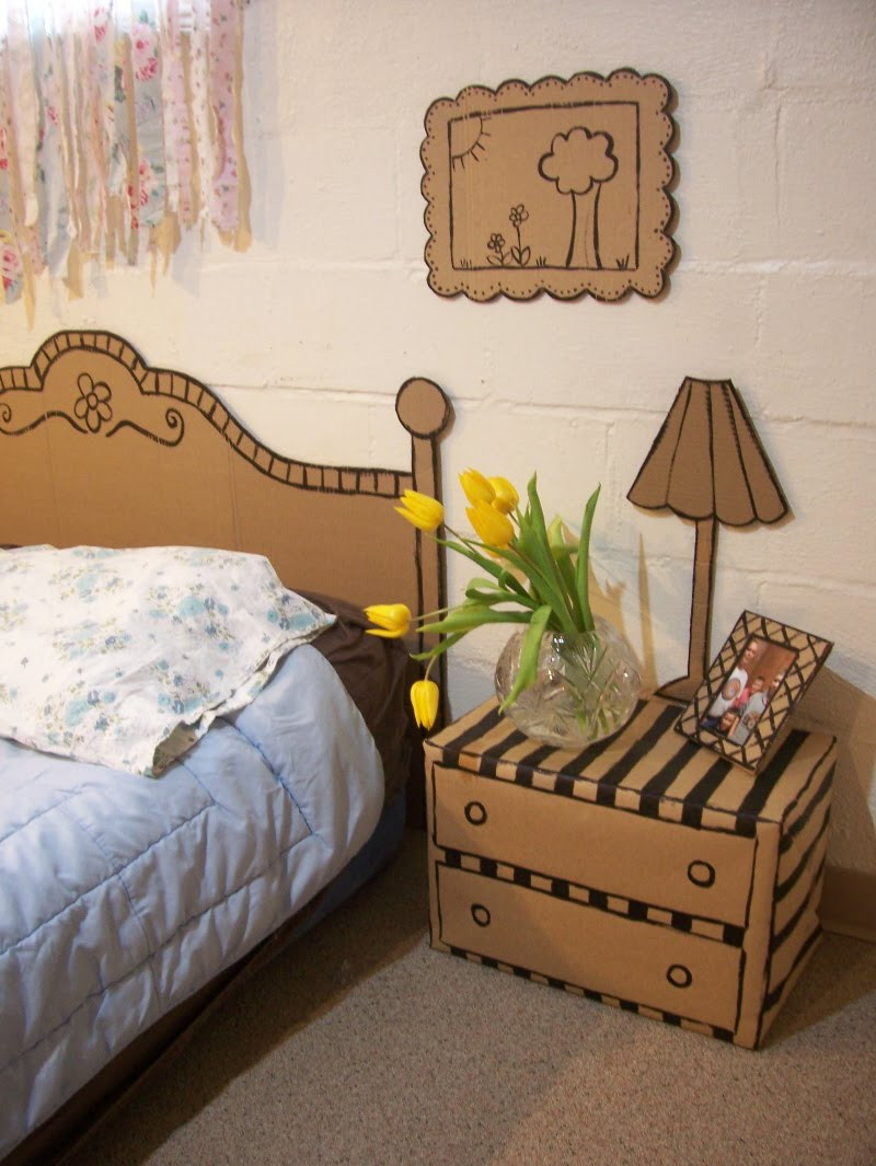 Best ideas about Cardboard Furniture DIY . Save or Pin 20 Clever DIY projects using old CARDBOARD BOXES Now.