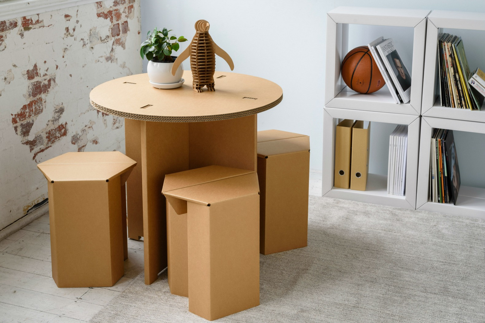 Best ideas about Cardboard Furniture DIY . Save or Pin Karton creates ultra durable cardboard furniture for every Now.