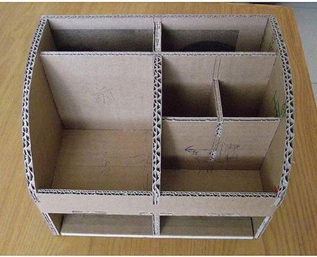 Best ideas about Cardboard Organizer DIY . Save or Pin 25 Best Ideas about Cardboard Organizer on Pinterest Now.
