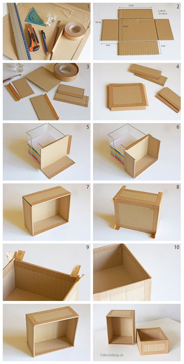 Best ideas about Cardboard Organizer DIY . Save or Pin Best 25 Diy box ideas on Pinterest Now.