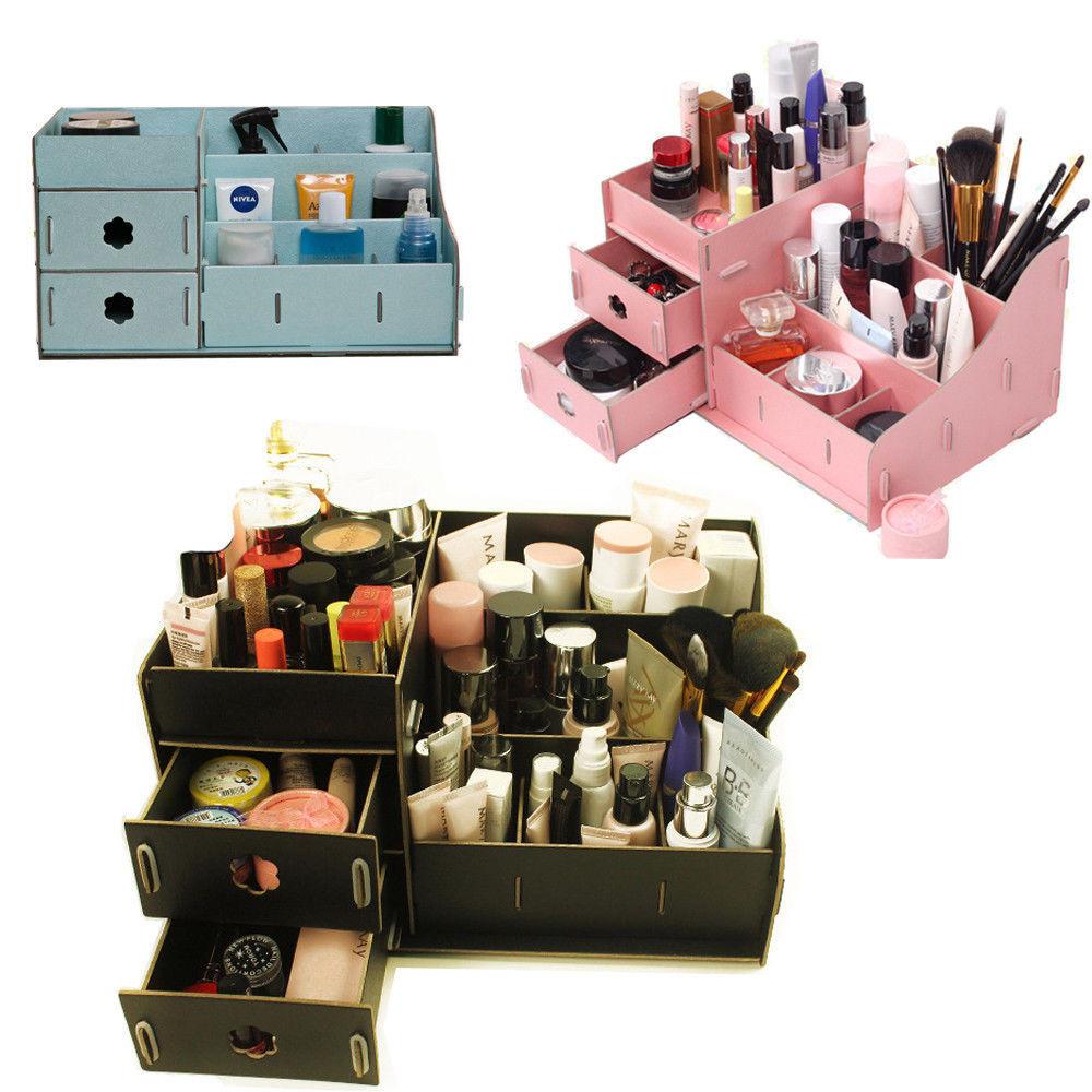 Best ideas about Cardboard Organizer DIY . Save or Pin DIY Cardboard Big Storage Box Desk Decor Stationery Makeup Now.