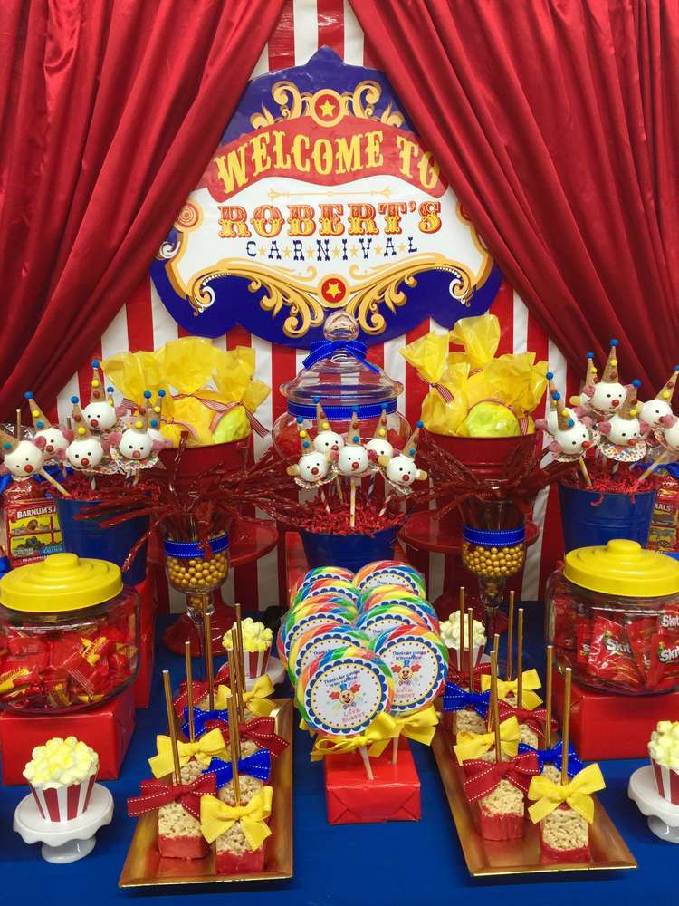 Best ideas about Carnival Birthday Party Ideas . Save or Pin Carnival Birthday Party Ideas 1 of 8 Now.