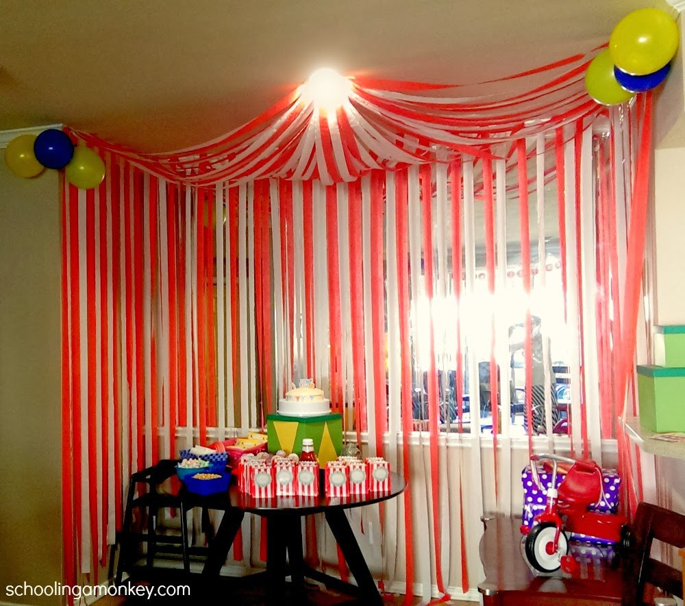Best ideas about Carnival Birthday Party Ideas . Save or Pin Carnival Party Ideas Now.