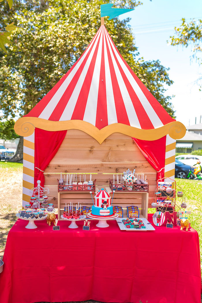 Best ideas about Carnival Birthday Party Ideas . Save or Pin Kara s Party Ideas Circus Big Top Birthday Party Now.