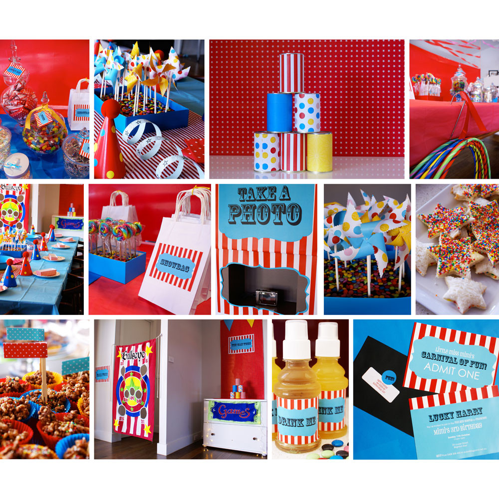 Best ideas about Carnival Birthday Party Ideas . Save or Pin The Cutest Party on the Block Carnival Inspiration Now.