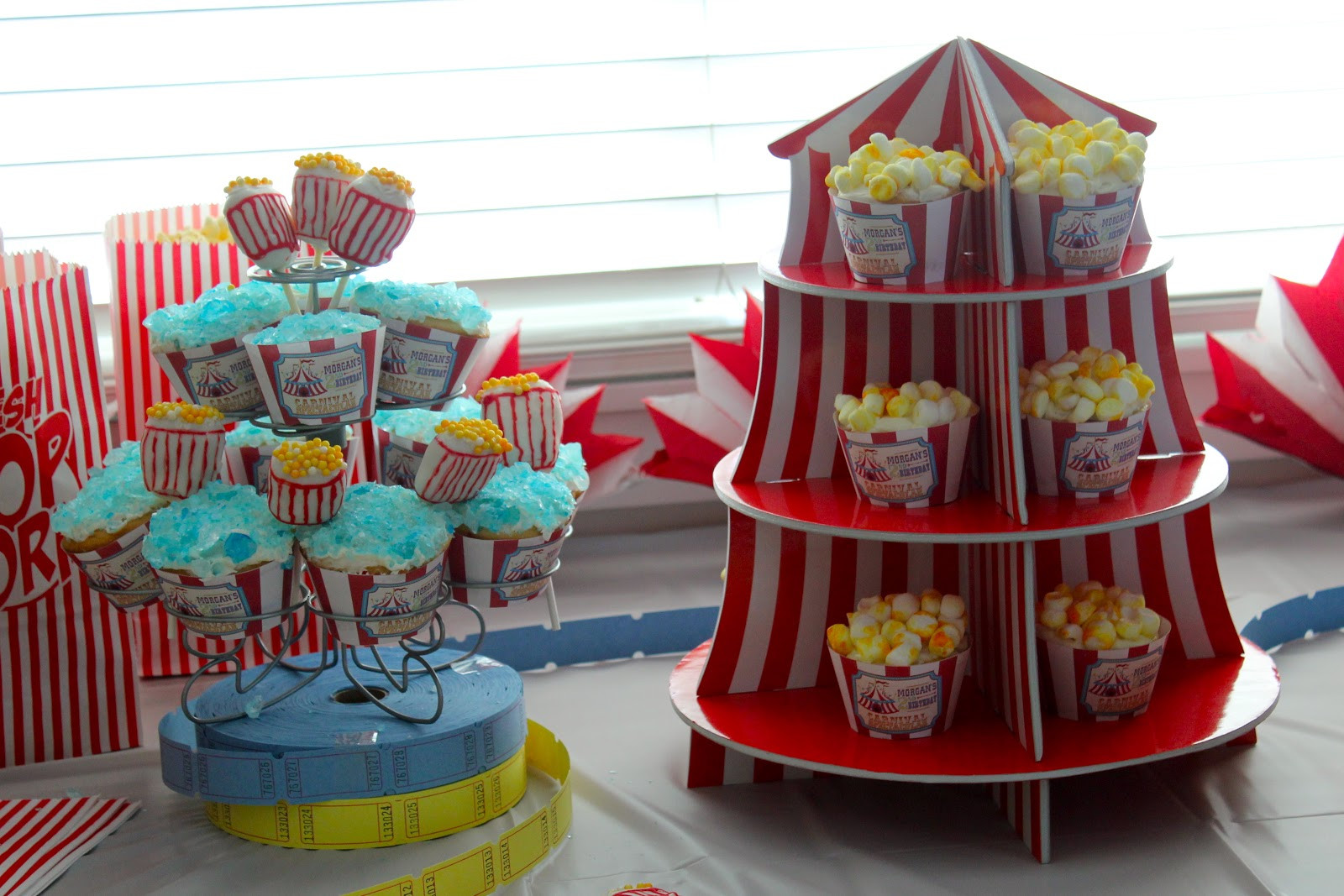 Best ideas about Carnival Birthday Party Ideas . Save or Pin Taylor Joelle Designs Carnival Birthday Party Now.
