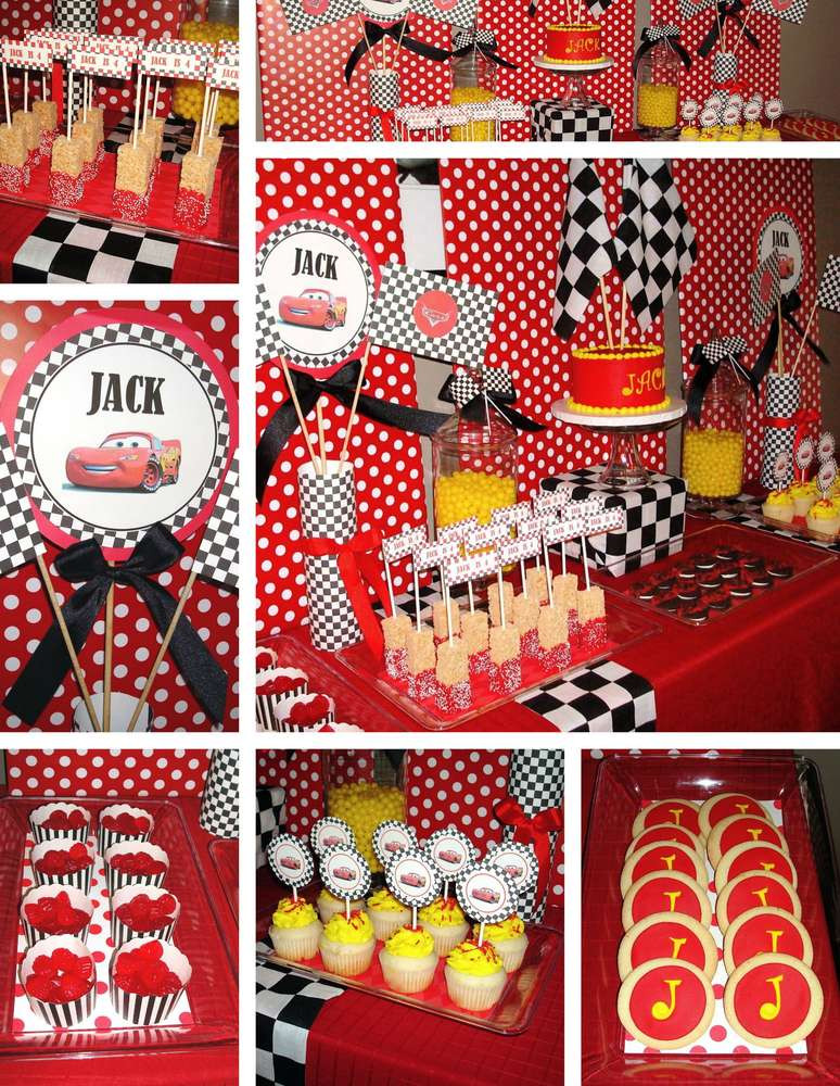 Best ideas about Cars Birthday Decorations . Save or Pin Disney s Cars Birthday Party Ideas 9 of 10 Now.