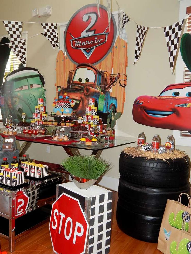 Best ideas about Cars Birthday Decorations . Save or Pin Disney Pixar Car Party Birthday Party Ideas Now.