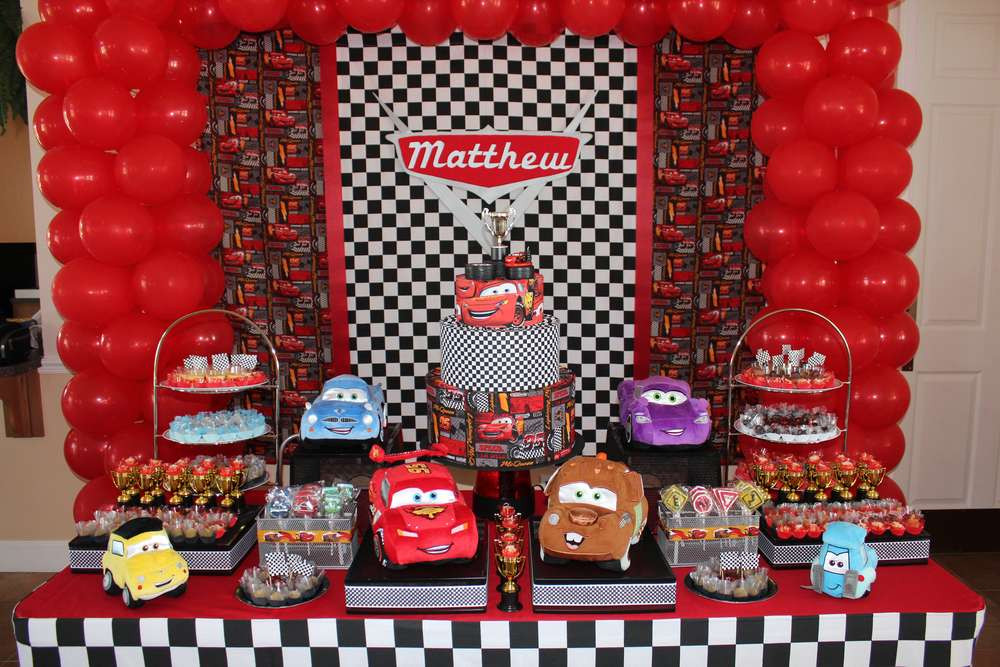 Best ideas about Cars Birthday Decorations . Save or Pin Disney Cars Birthday Party Ideas 1 of 11 Now.