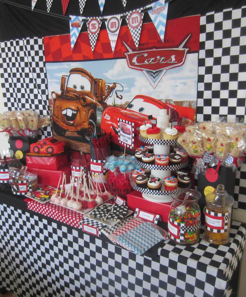 Best ideas about Cars Birthday Decorations . Save or Pin Disney Cars Birthday Party Ideas 2 of 35 Now.