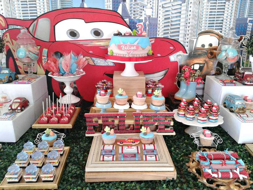 Best ideas about Cars Birthday Decorations . Save or Pin Disney Cars Birthday Party Ideas – Themed Birthday Ideas Now.