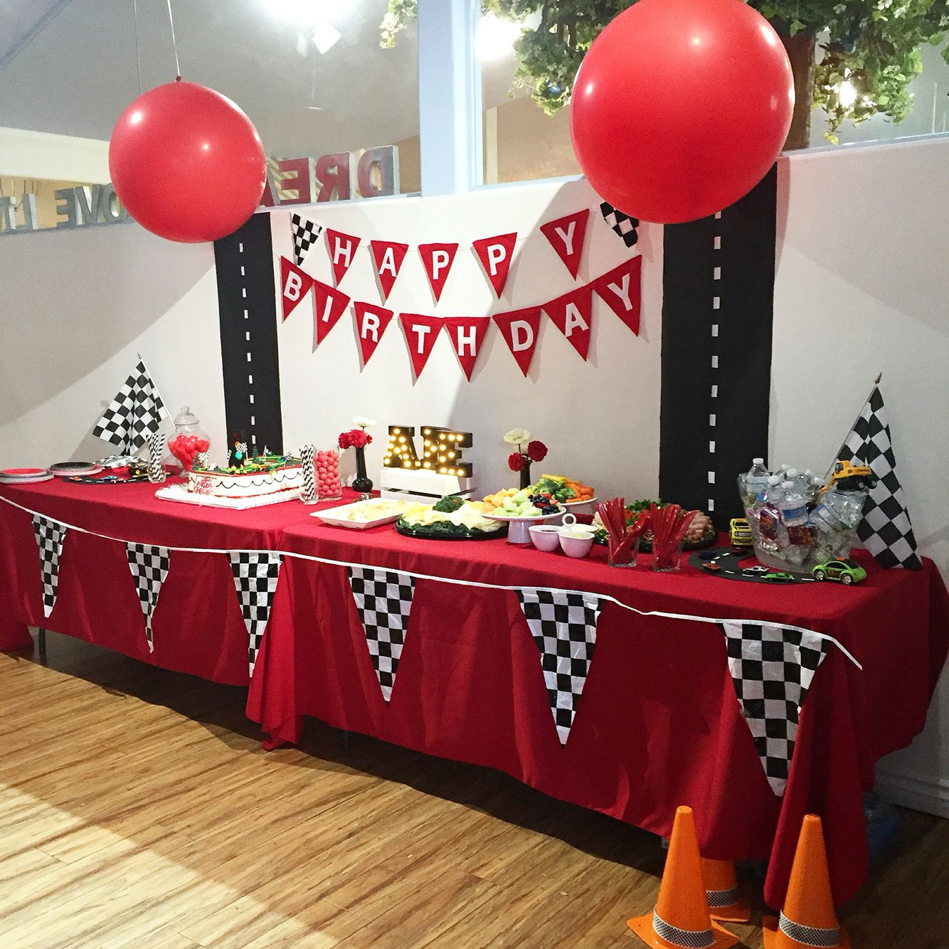 Best ideas about Cars Themed Birthday Party . Save or Pin Cars Party Table decor Disney Cars Theme Now.