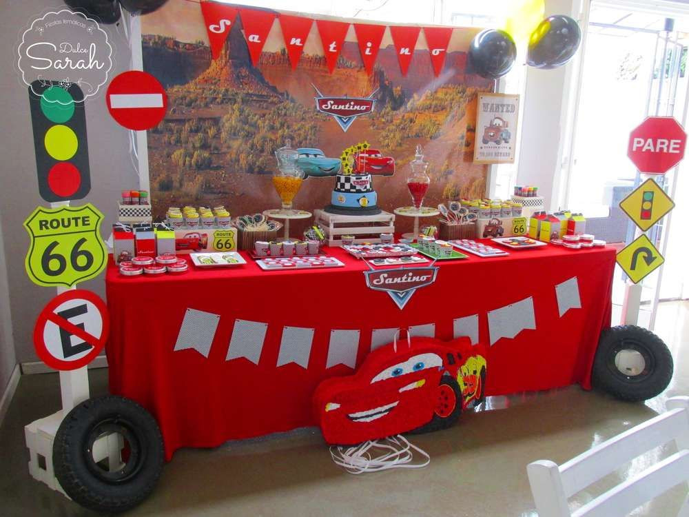 Best ideas about Cars Themed Birthday Party . Save or Pin Cars Disney movie Birthday Party Ideas Now.