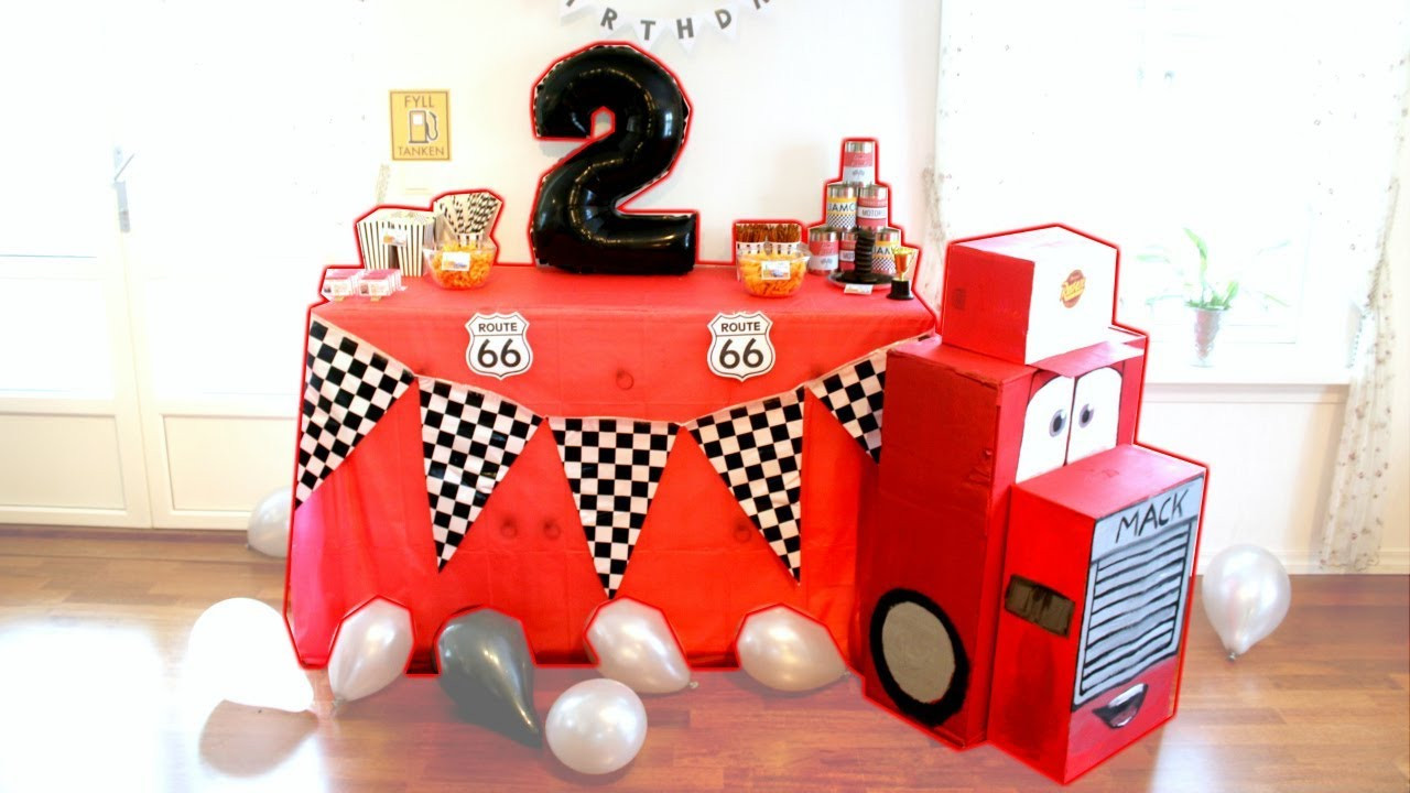 Best ideas about Cars Themed Birthday Party . Save or Pin Cars Themed Birthday Party Liam 2 years old Now.