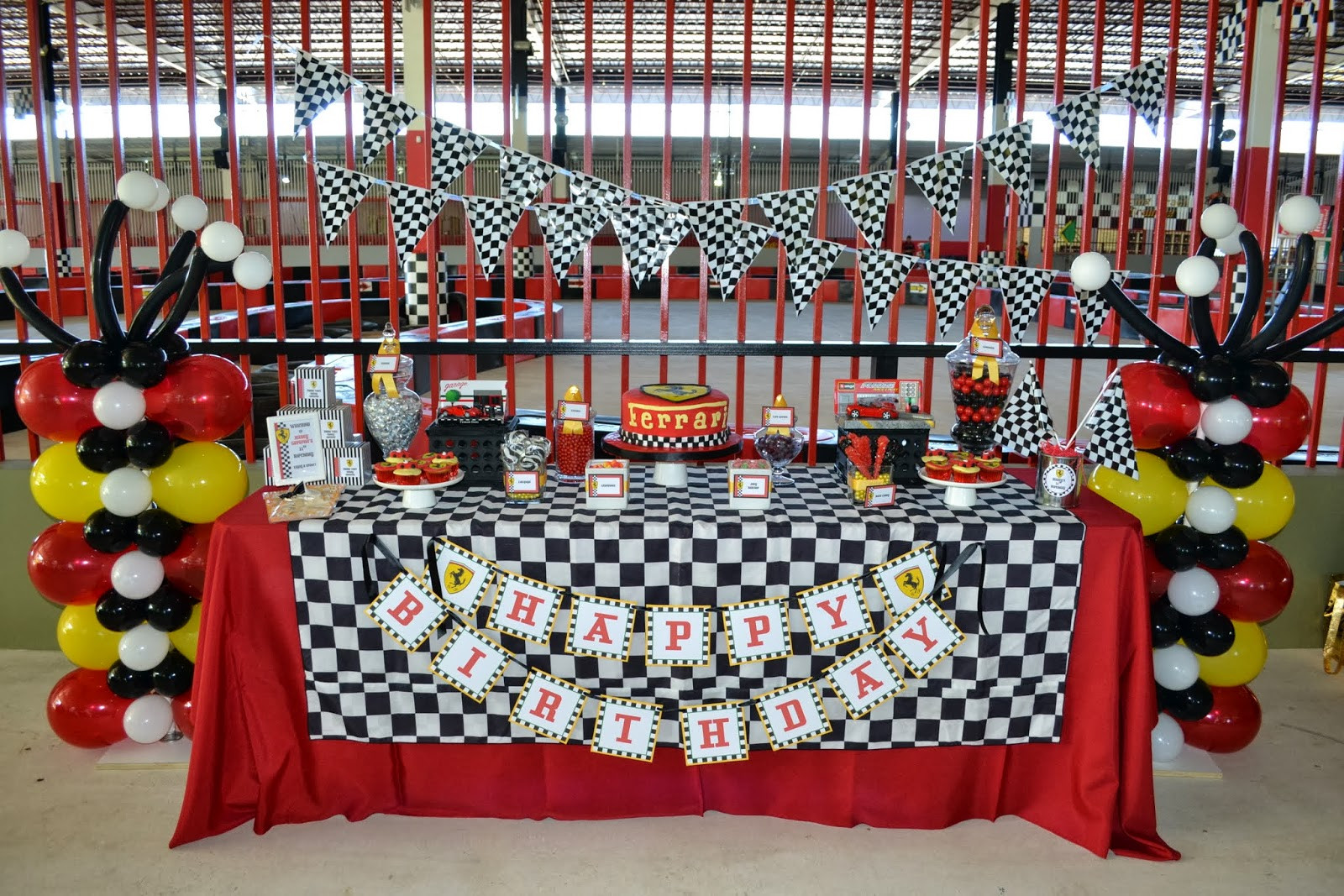 Best ideas about Cars Themed Birthday Party . Save or Pin Partylicious Events PR Ferrari Birthday Now.