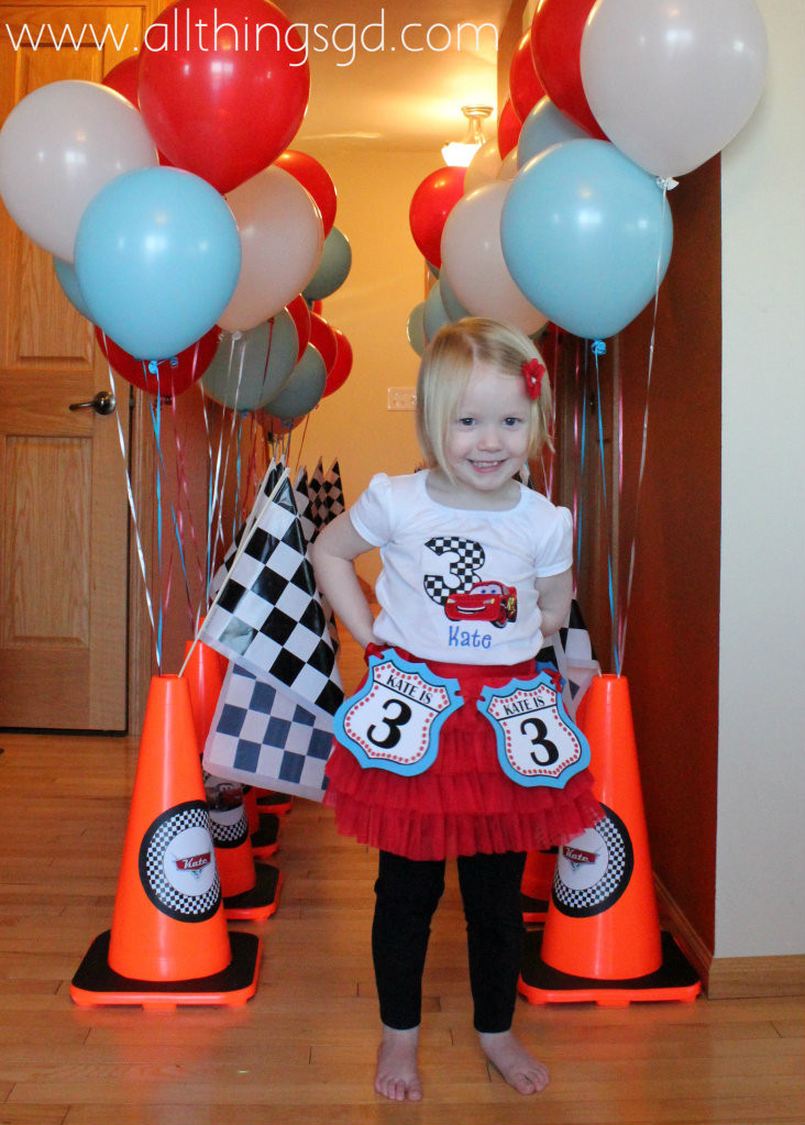 Best ideas about Cars Themed Birthday Party . Save or Pin Kate s Cars Themed Birthday Party All Things G&D Now.