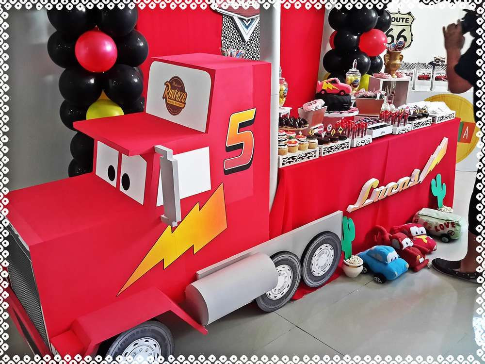 Best ideas about Cars Themed Birthday Party . Save or Pin Cars Disney movie Birthday Party Ideas in 2019 Now.