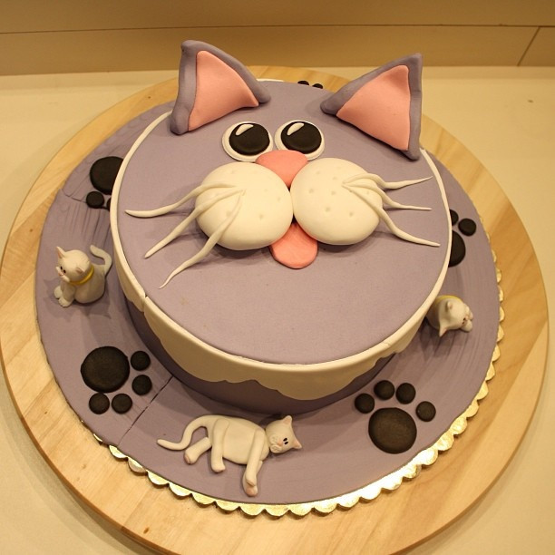 Best ideas about Cat Birthday Cake . Save or Pin Cat Cake Gifting Pleasure Now.