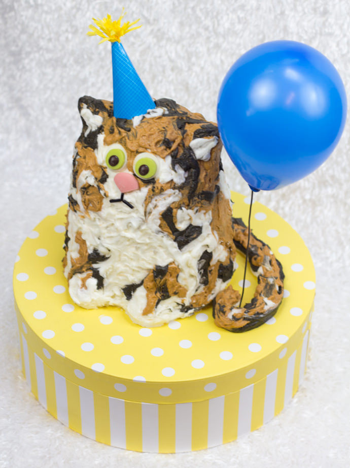 Best ideas about Cat Birthday Cake . Save or Pin The Purrfect Birthday Cake Now.